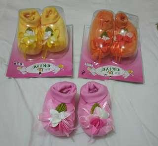 sspatu bayi ready 3 warna NEWW
