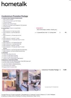 Condominium Promotion Package