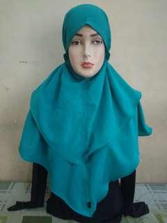 jilbab instan ikat