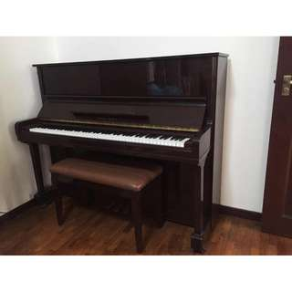 Polished Upright Piano at 5 Times Less than its Original Price!!