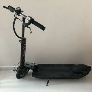 MYWAY electric scooter black