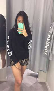 hnm black sweater