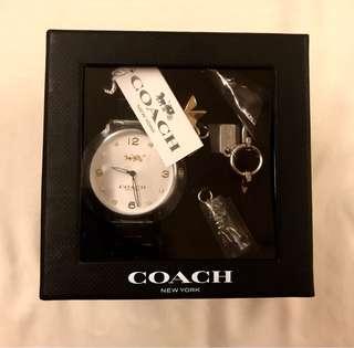 Coach watch set