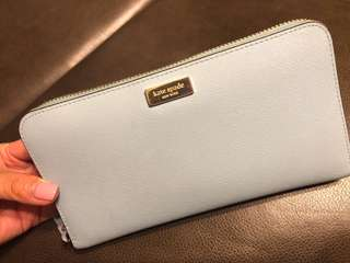 Kate Spade Wallet light blue