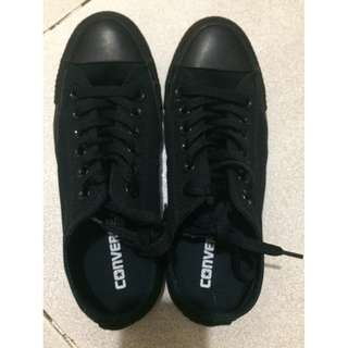 Converse Black C Taylor Shoes (Authentic)