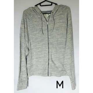 NWT Everlast Light Blue Hoodie Jacket Sweater - Medium