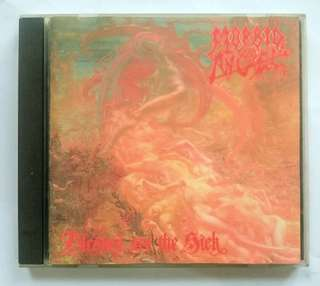 CD Morbid Angel Album Blessed Are the Sick 1st Release 91, Rare!