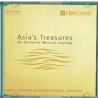 🚚 Asia's Treasures An Exclusive Musical Journey Classical Music CD by DBS Bank