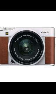 Fujifilm X-A5 Mirrorless Digital with 15-45mm Kredit Cepat Tanpa CC