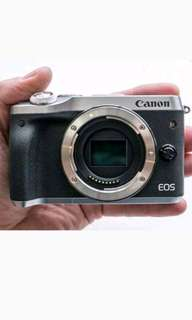 Canon EOS M6 Mirrorless 15-45mm (Kredit Tanpa CC)
