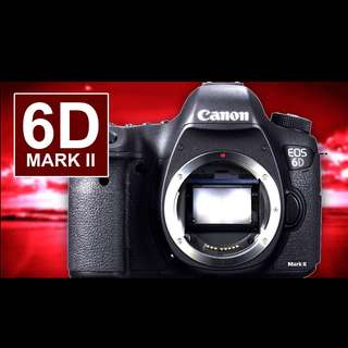 Canon Eos 6D mk2 body