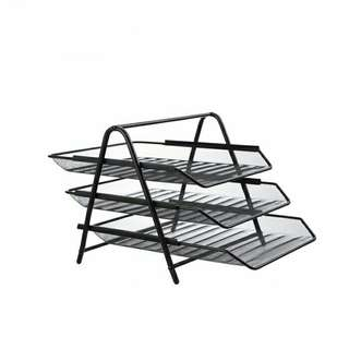 Three-Tier File Tray