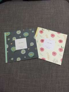 🚚 Pretty Floral Notebooks