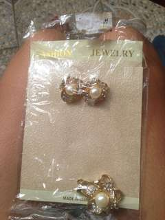 TERNO earrings and pendant with freebie