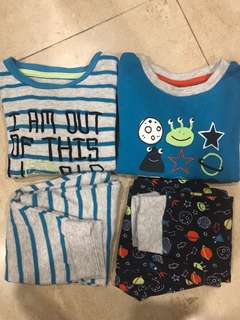 Primark baby boy pyjamas set