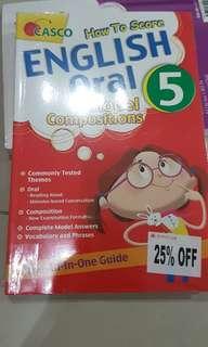 Casco P5 how to score English oral & model compo