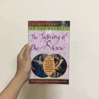 The Taming of the Shrew (Shakespeare On The Double)