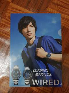Fukushi Sota WIRED A4 File