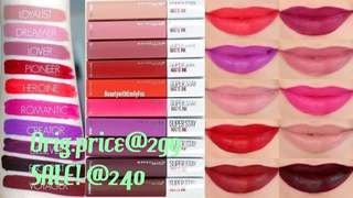 MAYBELLINE SUPER STAY MATTE LIPSTICK