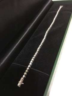 My Jewelry 愛飾 18K 白金全鑽石手鏈