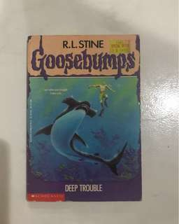 Goosebumps Story Book <Deep Trouble>