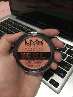 NYX Highlighter Duo Chromatic Illuminating Powder Shade Synthetica