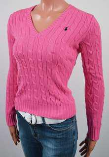 Ralph Lauren v neck sweater XS