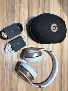 Beats by Dre Solo3 Gold On-Ear Wireless Headphones