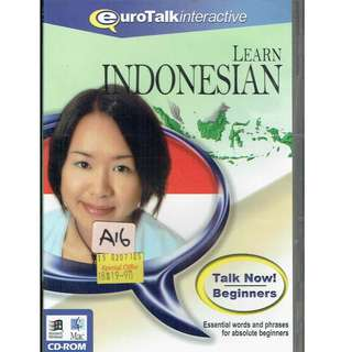 🚚 Learn Indonesian - EuroTalk CD