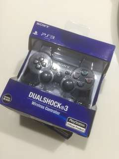 Playstation 3 Dual Shock 3 controller with free silicone case