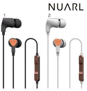 日本Nuarl NE110 入耳式耳機with mic contral,香港原裝行貨