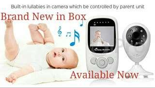 2.4 Inch Wireless Digital Video Baby Monitor Night Vision IR LED Baba Baby Camera 2Way Talk Electronic Babysitter
