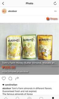 Tom's Farm Almond
