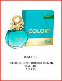 COLORA DE BENETTON BLUE WOMAN