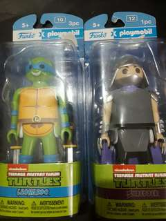 Teenage Mutant Ninja Turtles Leonardo and Shredder