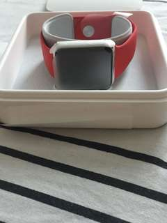 Red Apple Watch 1st Generation