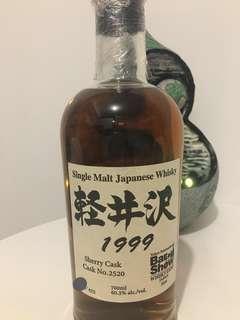 日本威士忌 輕井沢  Karuizawa 1999