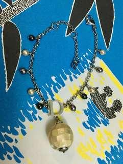 Dior 珍珠貝殼手鍊