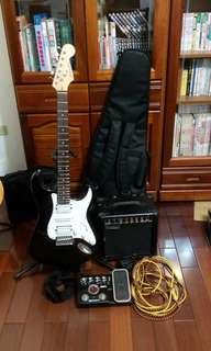 電吉他 效果器 音箱
