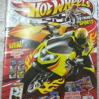 Majalah Hot Wheels 4