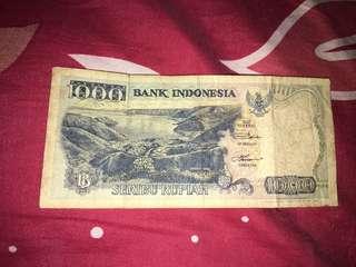 Uang Seribu 1992