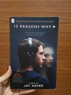 🚚 13 Reasons Why Season 1 Novel