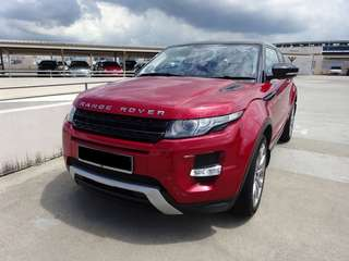 🇸🇬Status Singapura🇸🇬 Range Rover Evoqur 2.0supercharges 3 door 2012 Condition