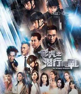 TVB Hong Kong drama Flying Tiger 飛虎之潛行極戰 Brand New