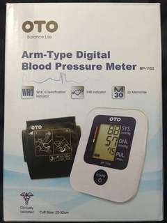 🚚 BRAND NEW OTO Electronic Blood Pressure Monitor