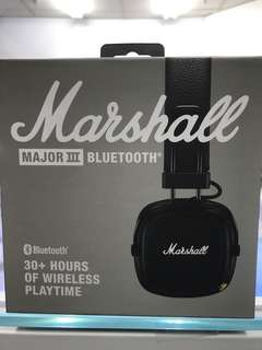 Brand new Marshall major 3 Bluetooth