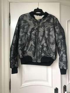 Topshop army bomber jacket