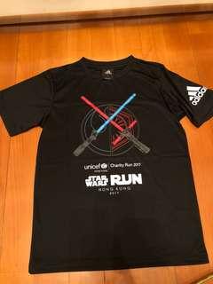 全新adidas x Star Wars Run Hong Kong紀念Tee