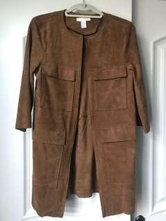 HM faux suede jacket