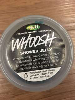 🚚 Lush WHOOSH Shower Jelly 100 gms